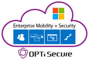 OPTi Secure Enterprise Mobility Security(EMS)サービス